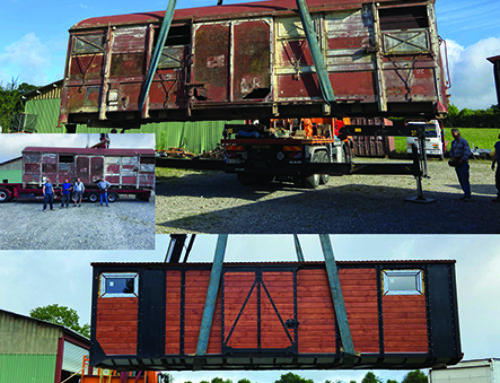 Restauration d'anciens wagons de la SNCF